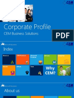 Cem Corporate Brochure