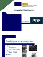 Hotel Engineering Training Food Service Equipment