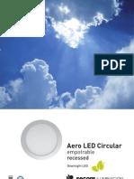 Aero Circular Empotrable ESP
