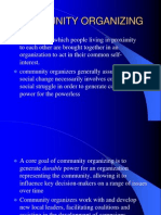 Power Point Lecture on COMMUNITY ORGANIZING.ppt