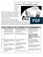 MS English Blogs Assessment (Updated Jan 2009)