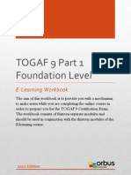 TOGAF 9 Part 1 Foundation Level E-Learning Workbook