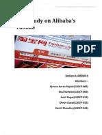 Case Study on Alibabas Taobao