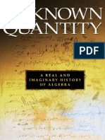 Unknown Quantity - A History of Algebra