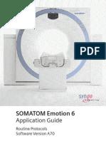 SOMATOM Emotion 6 Routine VA70