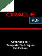 Advanced Rt f Templates