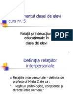 Relatii Educationale
