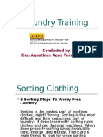 Hotel Laundry Training