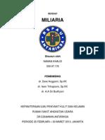 Cover Referat Miliaria