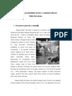 Valorificarea Potentialului Turistic a Statiunii Balneare Baile Herculane