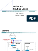 Discard Routers and Avoiding Routing Loops