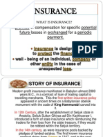 Slides Show - Importance of Insurance