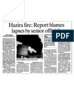 IOCL Hazira Fire