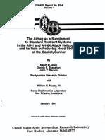 Usaarl Report No 91-6 Vol 1