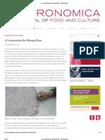 A Lamentation for Shrimp Paste - Gastronomica