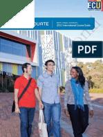 2013 ECU Study International UG Brochure and AF