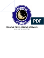 Insomnia Cookies Creative Development