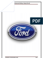 Ford Selling Main Project