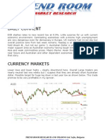 TREND ROOM Daily Market letter 7 May 2013
