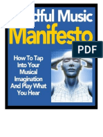 Mindful Music Manifesto