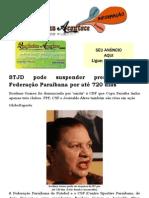 STJD pode suspender presidente da Federação Paraibana por até 720 dias