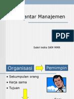 54596803 1 Dasar Dasar Manajemen