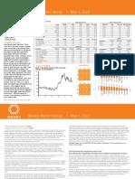 Weekly Market Recap-Week of May 6th-Oranj