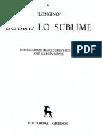 1. Sobre Lo Sublime Pseudo-Longino s I o IIIdC Frag Inicial