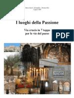 Via Crucis Luoghi Passione
