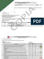 Informe de Evaluacioìn Institucional