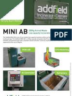 Animal Waste Incinerator Mini AB Datasheet