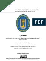 ESTADO DEL ARTE DE E-GOVERMENT PERÚ, AMÉRICA LATINA Y EN EL MUNDO