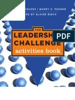 The Leadership Challenge Activitie