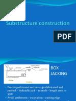 Box Jacking&BAsementconstn.