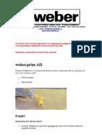 Weber Prim AD Fr