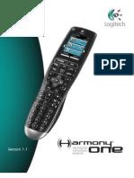 Logitech Harmony One Advanced User Manual