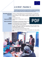 CIL - News in Brief 1 and 2 - Miadeen + Kick Off LDP