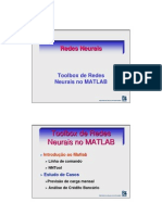 1Redes Neurais No Matlab