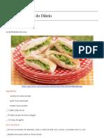 Livro de Receitas do Diário » Arquivo » Delícia vegetariana