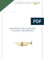 exercícios para melhorar o som do trompete