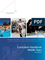PMS Middle Years Curriculum Handbook 2013