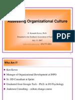 Assessing Organization Culture2