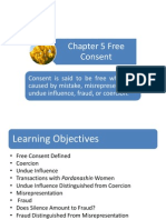Chapter 5 Free Consent