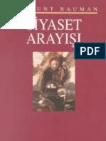 Zygmunt Bauman - Siyaset Arayışı.pdf