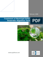 2008 February Treatment of Municipal Solid Waste Anaerobic Digestion Technologies