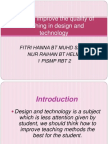 Ways to Improving the Quality of Design And
