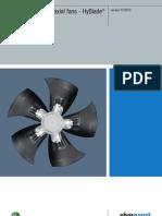 Axial Fan AC HyBlade En