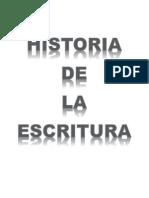 Historia de La Escritura (Con Graficos)