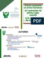 Prever e Prevenir Os Erros Humanos _CCPS- ABQUIM 2010