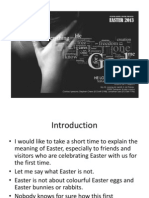 Easter Message 2013